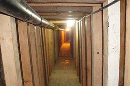 Un nouveau tunnel découvert entre le Mexique et les Etats-Unis