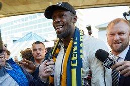 Usain Bolt arrive en Australie pour assouvir son rêve