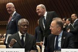 Le directeur général de l'ONU à Genève ému après le décès d'Annan