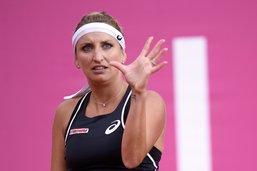 Timea Bacsinszky contre la Championne olympique