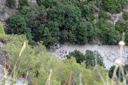 Les trois disparus après la crue soudaine d'un torrent en Italie retrouvés