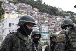 Treize morts, dont deux soldats, dans des opérations des forces au Brésil