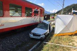 Collision mortelle entre un train et une voiture à Selkingen (VS)
