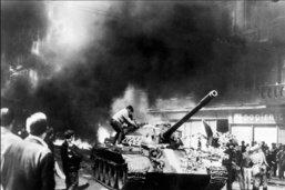 Commémoration des 50 ans de l'écrasement du Printemps de Prague