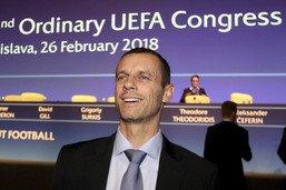 Aleksander Ceferin candidat à un 2e mandat de président de l'UEFA