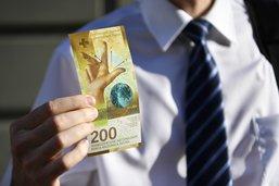 Le nouveau billet de 200 francs en circulation dès aujourd'hui