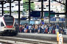 Persistance des perturbations ferroviaires entre Genève et Lausanne