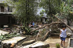 L'Inde refuse l'aide étrangère après les inondations du Kerala