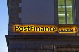 Postfinance voit son bénéfice chuter au 1er semestre