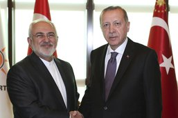 Le chef de la diplomatie iranienne rencontre Erdogan à Ankara