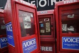 """Fermeture de l'hebdomadaire """"Village Voice"""", voix de New York"""