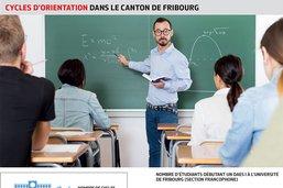 Enseigner à l'école secondaire a la cote