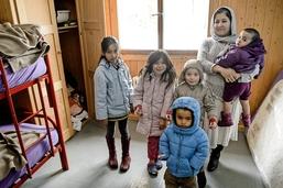 Des enfants migrants sont détenus