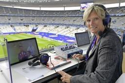 Journalistes sportives, mais sans micro