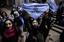 L'avortement déchire l'Argentine