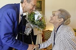 Une centenaire célèbre une vie bien remplie