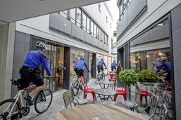 Le vélo, nouvelle monture policière