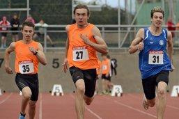 Charles Devantay se pare de bronze sur 400m