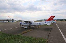 L'avion antigrêle dans le ciel suisse
