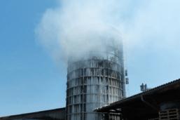 Deux blessés après l'incendie d'un silo à Fendringen