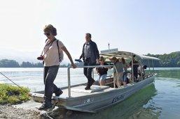 En visite sur l'île d'Ogoz