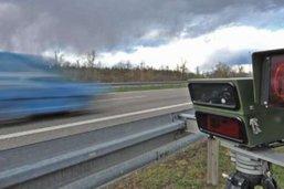 Flashé à 144 km/h entre Romont et Siviriez