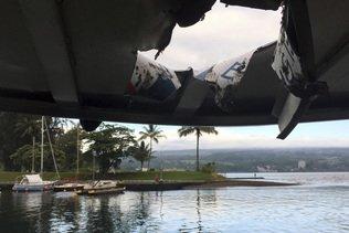 Eruption à Hawaï: 23 personnes blessées par un jet de lave