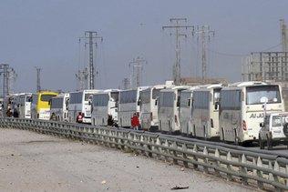 Localités chiites du nord-ouest de la Syrie en cours d'évacuation