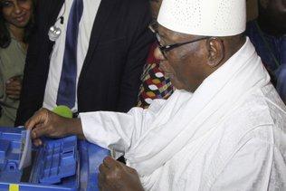Mali: le président Ibrahim Boubacar Keita réélu avec 67% des voix