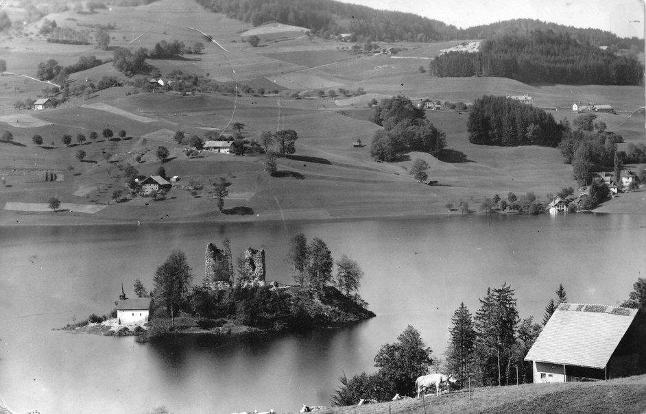 Le lac de la Gruyère dans nos archives