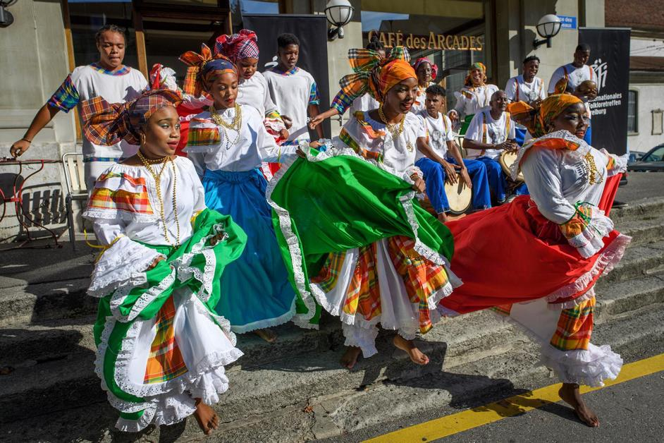 Ouverture des Rencontre de Folklore internationales