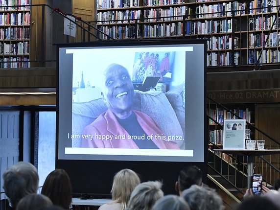 Maryse Condé reçoit le prix Nobel de littérature alternatif