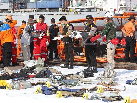 Un avion de Lion Air s'est abîmé au large des côtes — Indonésie