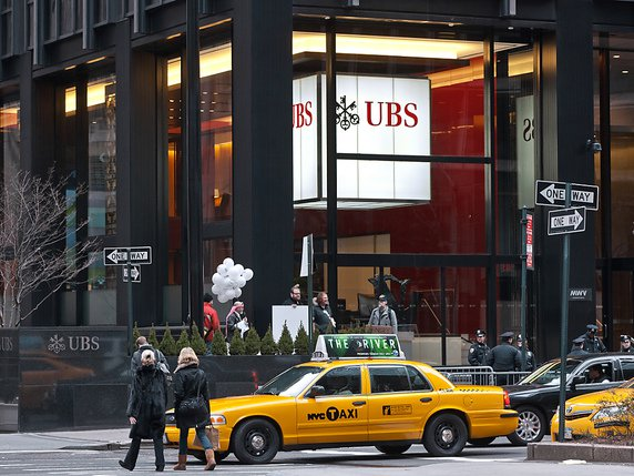 La filiale d'UBS à New York (archives). © KEYSTONE/MARTIN RUETSCHI