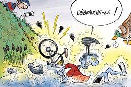 Le danger des chutes à vélo électrique