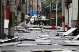 Le typhon Jebi laisse au moins 10 morts et des dégâts au Japon