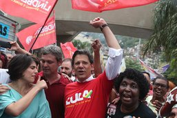 Le candidat brésilien de gauche promet de réduire la violence
