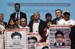 Lueur d'espoir pour les proches des étudiants disparus au Mexique