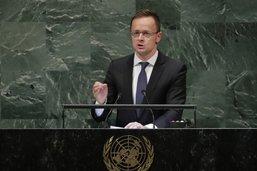 La Hongrie clame à l'ONU son opposition aux migrations