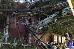 Le typhon Trami laisse deux morts et une centaine de blessés