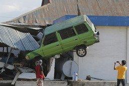 Le bilan du séisme suivi d'un tsunami monte à 1234 morts