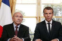 Le président français accepte la démission du ministre Collomb