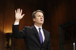 Le juge Kavanaugh a prêté serment à la cour suprême des Etats-Unis