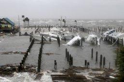 Scènes de dévastation en Floride après le passage de l'ouragan Michael