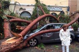 Les intempéries ont également fait d'importants dommages en Italie