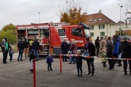Les sapeurs-pompiers ont de nouveaux véhicules