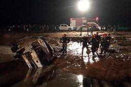 Des pluies diluviennes font douze morts en Jordanie