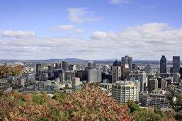 Montréal de haut en bas