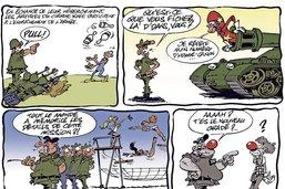 Le cirque et les militaires cohabitent