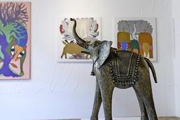 Indian Vibes  à la galerie Trace-Ecart, à Bulle